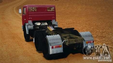 KAMAZ 5410 for GTA 4 left view