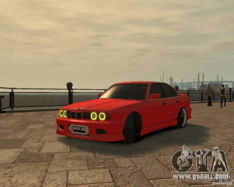 Bmw 535i (E34) tuning for GTA 4 right view
