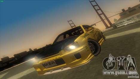 Subaru Impreza WRX No Fear for GTA San Andreas