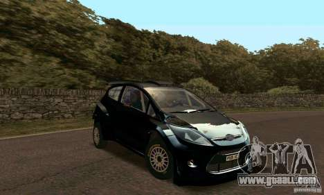 Ford Fiesta Rally for GTA San Andreas left view