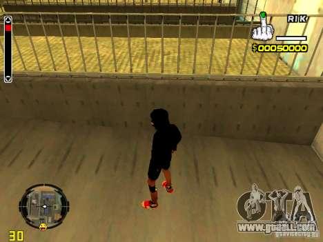 Skin bum v7 for GTA San Andreas third screenshot
