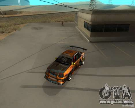 Subaru Impreza WRX Team Orange DRIFT SA-MP for GTA San Andreas