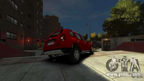 Dacia Duster SUV 4x4 2010 for GTA 4 side view