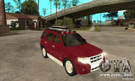 Ford Escape 2009 for GTA San Andreas back view