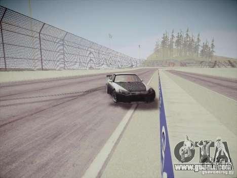 Honda S2000 JDM Dirft for GTA San Andreas inner view