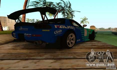 Mazda RX7 Falken edition for GTA San Andreas right view