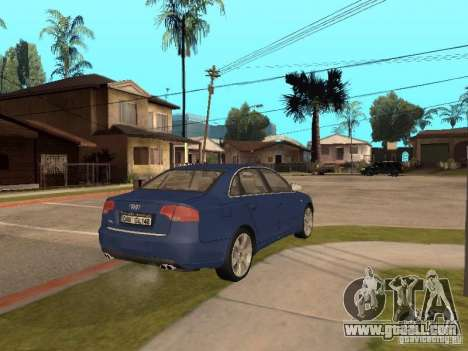 Audi S4 for GTA San Andreas side view