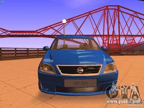 Nissan NP200 for GTA San Andreas