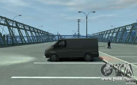 Ford Transit 2011 for GTA 4 left view