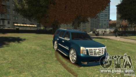 Cadillac Escalade Dub for GTA 4 back view