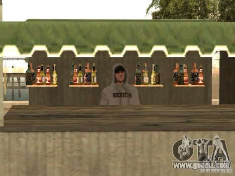 Market on the beach for GTA San Andreas fifth screenshot
