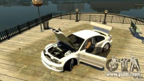 BMW E46 M3 GTR Sport for GTA 4 back view