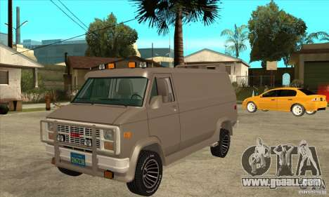 GMC Van 1983 for GTA San Andreas