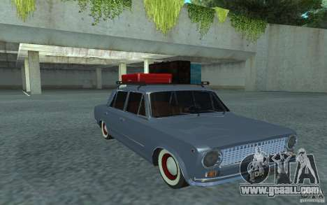 Vaz-2101 Retro Style for GTA San Andreas back view