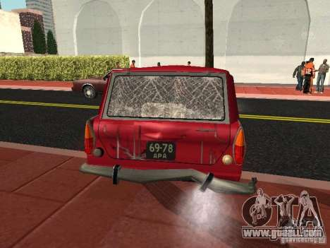 Moskvich 434 for GTA San Andreas side view