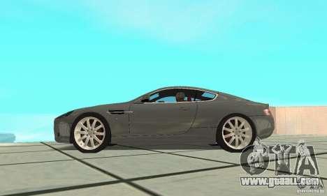 Aston Martin DB9 for GTA San Andreas right view