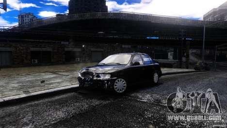 Toyota Corolla 1.6 for GTA 4 back view