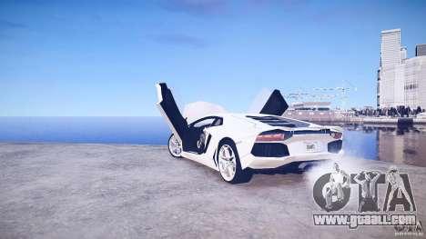 Lamborghini Aventador LP700-4 v1.0 for GTA 4 upper view