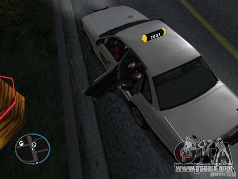 Taxi mod for GTA San Andreas