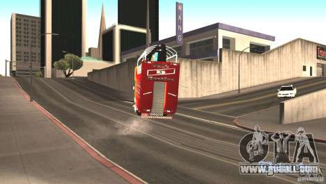 Scania 93H 6x2 Trio Eletrico for GTA San Andreas