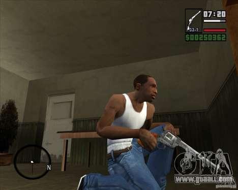 Revolver for GTA San Andreas