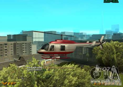 New Maverick for GTA San Andreas