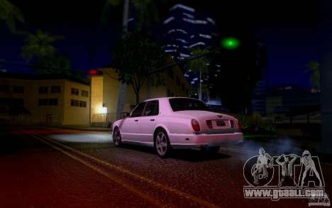 Bentley Arnage for GTA San Andreas bottom view