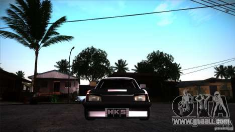 Opel Ascona Tuning Edition for GTA San Andreas back view