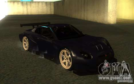 Nissan Skyline R35 GTR for GTA San Andreas inner view