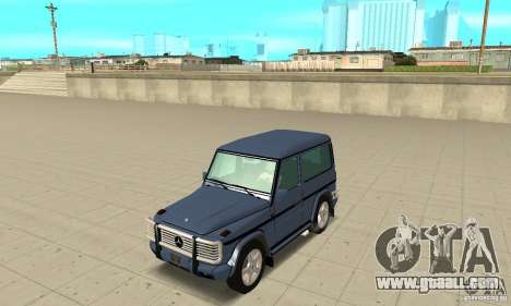 Mercedes-Benz G500 1999 Short [with kangoo v2] for GTA San Andreas