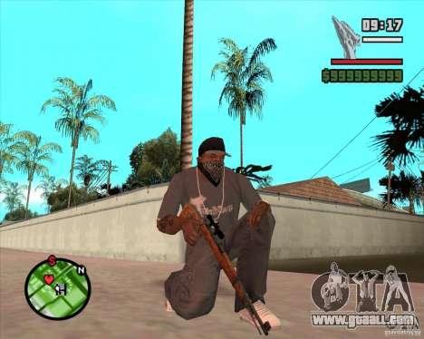 K98 for GTA San Andreas