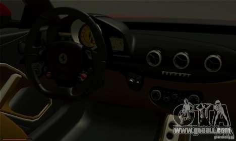 Ferrari F12 Berlinetta BETA for GTA San Andreas right view