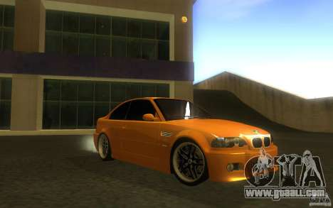BMW M3 E46 V.I.P for GTA San Andreas side view