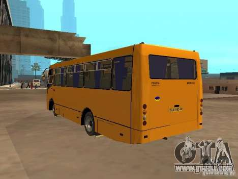 BOGDAN A 09202 for GTA San Andreas inner view