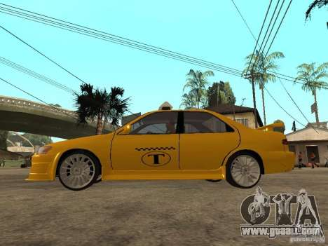 Toyota Camry TAXI for GTA San Andreas left view