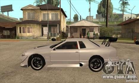 Nissan Silvia S15 + Elegy for GTA San Andreas left view