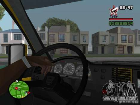 Active dashboard for GTA San Andreas forth screenshot