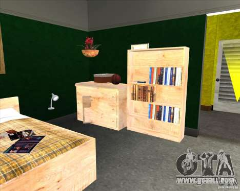 New Interior of CJs House for GTA San Andreas forth screenshot