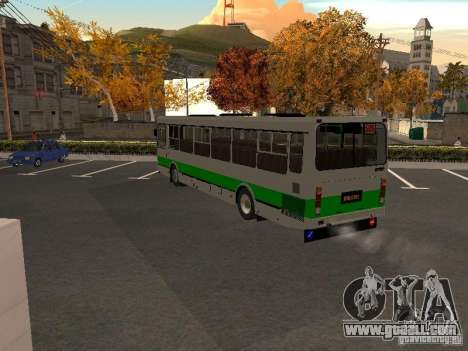 LIAZ 5256.45-01 for GTA San Andreas back left view