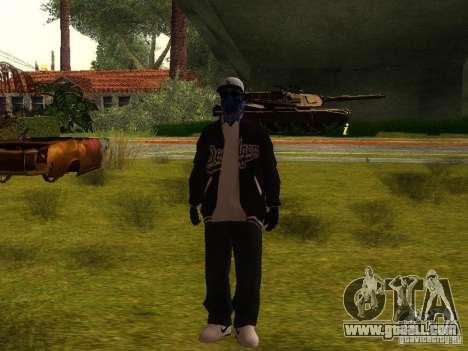 Crips for GTA San Andreas fifth screenshot