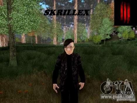 Skrillex for GTA San Andreas
