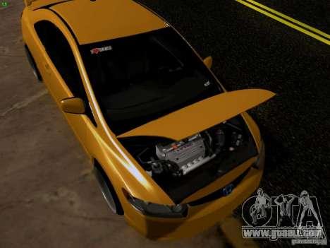 Honda Civic Si JDM for GTA San Andreas right view