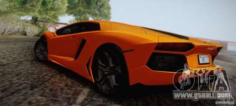 Lamborghini Aventador LP700-4 Final for GTA San Andreas bottom view