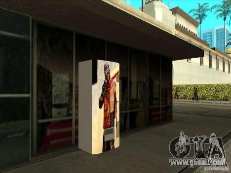 Soda pop Ray Mysterio for GTA San Andreas second screenshot