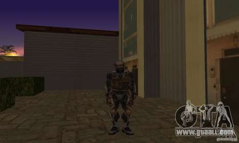 Crysis NanoSuit for GTA San Andreas second screenshot