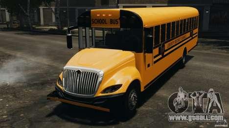 School Bus v1.5 for GTA 4