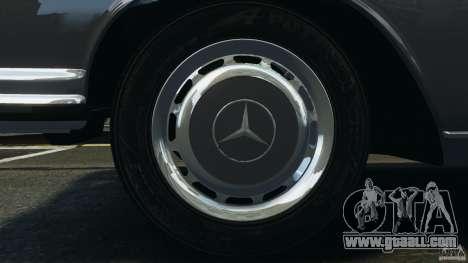 Mercedes-Benz 300Sel 1971 v1.0 for GTA 4 engine