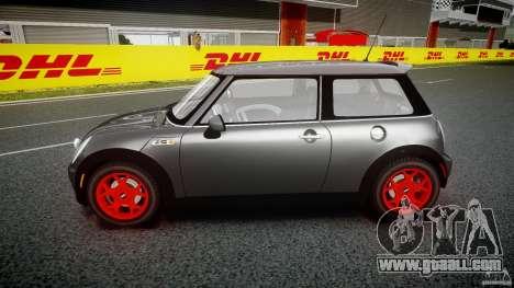 Mini Cooper S for GTA 4 inner view