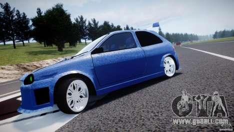 Chevrolet Corsa Extreme Revolution for GTA 4 inner view