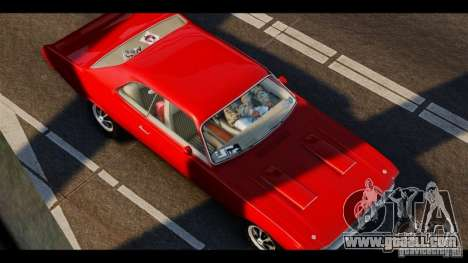 Dodge Demon 1971 for GTA 4 left view